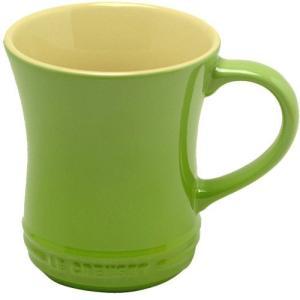 ルクルーゼ ストーンウェア マグカップ Sサイズ フルーツグリーン 910072-01-FG 電子レンジ・オーブン対応 |days