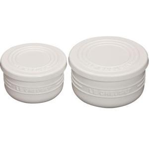 ルクルーゼ シリコン製 蓋つきカップ マルチ ラウンドカップ セット ホワイト 930071-00-W |days