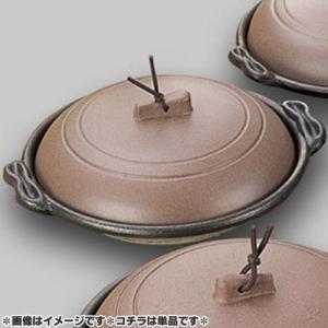マイン 業務用 庵 陶板鍋 16cm 浅皿 素焼き茶 M10-463  days