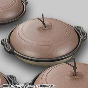 マイン 業務用 庵 陶板鍋 16cm 深皿 素焼き茶 M10-464  days