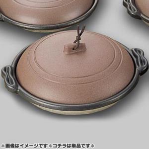 マイン 業務用 庵 陶板鍋 18cm 深皿 素焼き茶 M10-466  days