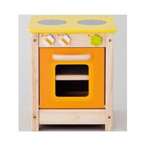 アイムトイ 子供用おもちゃ おままごと用 マイプレイキッチン オーブン 3歳から IM-97410|days