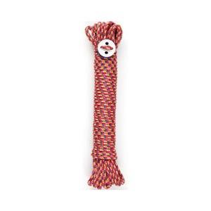 [P]ハグハグ ランドリー 洗濯ロープ ランドリーロープ 10m 4mm レッド HG-107|days