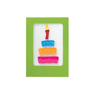 ジェルジェム グリーティング カード ケーキ|days