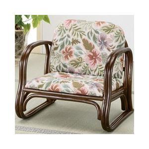 今枝商店 籐製 ジャカード織 らくらく 座椅子 ADS123|days
