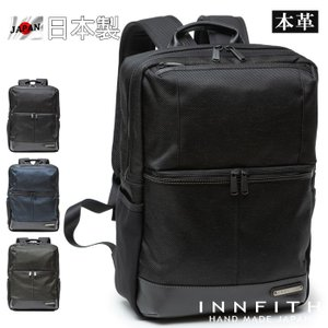 INNFITH インフィス 日本製 レザーバッグ リュックサック バックパック メンズ 本革 撥水 ...