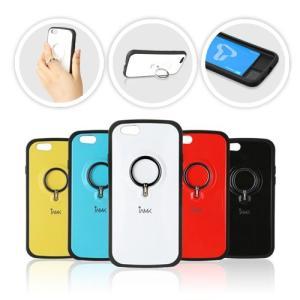 アイフォン6/4.7inch専用ケースカバーです。 後ろについているリングに指を入れて通話中に落下防...