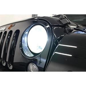 SMART(スマート)JKラングラー専用キャンセラー内蔵 LEDヘッドライト H4HL 5000k LHS06