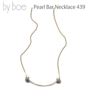 byboe バイボー 正規品 パールバーネックレス Pearl Bar Necklace 439 アクセサリー ANNIKA INEZ アニカ イネズ daytripper