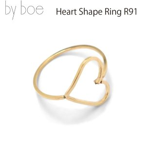 byboe バイボー 正規品 ハートシェイプリング 指輪 Heart Shape Ring R-91 アクセサリー ANNIKA INEZ アニカ イネズ daytripper