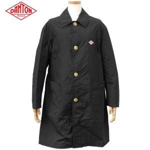 DANTON ダントン レディース ナイロンタフタ シングルコート スプリングコート NYLON TAFFETA SINGLE COAT JD-8642 BLACK|daytripper