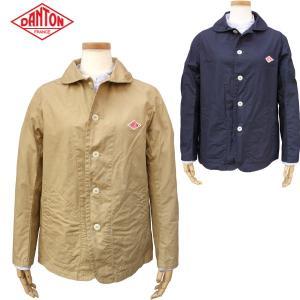 DANTON ダントン レディース 丸襟シングルジャケット DOWN PROOF ROUND COLLAR JACKET JD-8711|daytripper