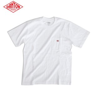 DANTON ダントン メンズ クルーネック 半袖 ポケットTシャツ POCKT T-SHIRT JD-9041|daytripper