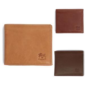 IL BISONTE イルビゾンテ 小銭入れ付き二つ折りレザー財布 C0487 ILBISONTE メンズ|daytripper