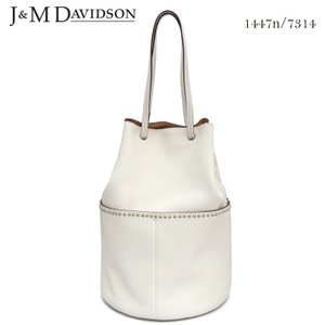J&M DAVIDSON ジェイアンドエム デヴィッドソン デイジーウィズスタッズ DAISY WITH STUDS 1447n/7314 カーフレザー ショルダーバッグ トートバッグ|daytripper
