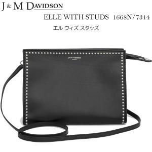 J&M DAVIDSON エルウィズスタッズ ショルダーバッグ ELLE WITH STUDS 1668n/7314|daytripper