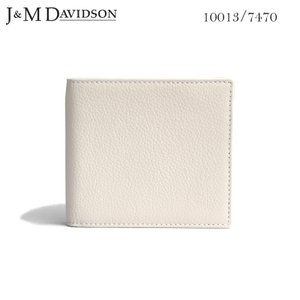 J&M DAVIDSON 二つ折り小銭入れ付き革財布 NEW WHITE Wallet with Coin Case SMALL GRAIN 10013 7470 0150 ジェイアンドエム デヴィッドソン|daytripper
