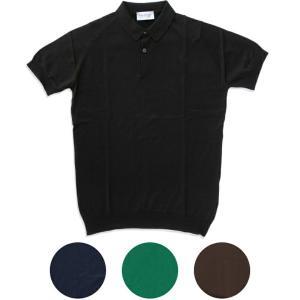 JOHN SMEDLEY ジョンスメドレー RHODES メンズニットポロシャツ|daytripper
