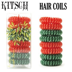 KITSCH ヘアゴム8個セット  キッチュ ヘアコイル hair coils|daytripper