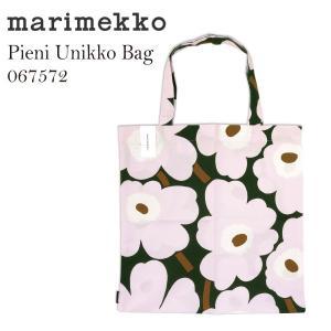 marimekko マリメッコ ウニッココットントートバッグ  ファブリックバッグ Pieni Unikko bag かわいい レディース ショッピングエコ プレゼントにも 067572|daytripper