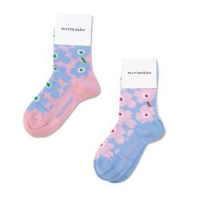 marimekko マリメッコ ウニッコ キッズソックス UMIKA SOCKS おしゃれ靴下 KIDS プレゼントにも 047741 Unikko|daytripper
