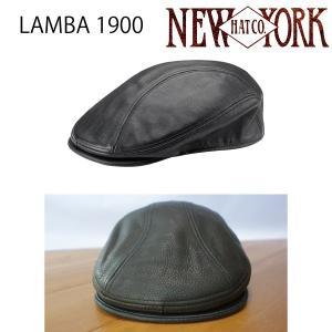 NEW YORK HAT ニューヨークハット レザードライバーキャップ  LAMBA 1900 男 メンズ RS9250 ヴィンテージ おしゃれ帽子 ハット プレゼントにも|daytripper