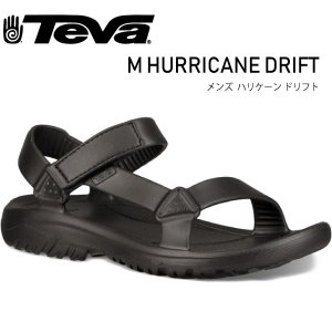 TEVA テバ メンズ ハリケーンドリフト M HURRICANE DRIFT 1100270-BLK MENS アウトドアサンダル スポーツ ビーチサンダル|daytripper