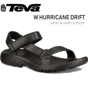 TEVA テバ レディース ハリケーンドリフト W HURRICANE DRIFT 1102390-BLK レディース アウトドアサンダル スポーツ ビーチサンダル|daytripper