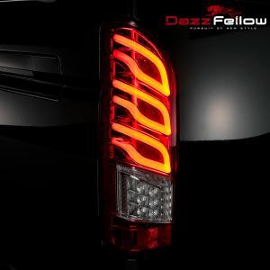 DazzFellows:PREMIUM LED TAIL LAMP fn.FLV for HIACE|プレミアム LEDテールランプ fn.FLV for ハイエース