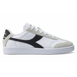 特価 DIADORA 173755 KICK P ストリートシューズ・カラー:0315/ホワイト×ブラック・普段履きに。|dazzle-sp