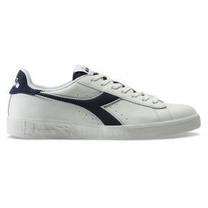 特価 DIADORA 174374 GAME P DEN ストリートシューズ・カラー:4656/ホワイト×ブルー デニム・普段履きに。|dazzle-sp