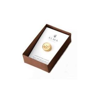 AP-IS-001 Aroma Pins (アロマ ピンズ) カラー/ゴールド  お好みの香水・アロマオイル 等をしみ込ませることができる ボタン型のピンズ|dazzle-sp