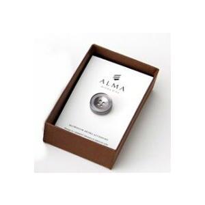 AP-IS-003 Aroma Pins (アロマ ピンズ) カラー/グレー  お好みの香水・アロマオイル 等をしみ込ませることができる ボタン型のピンズ|dazzle-sp