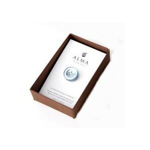 AP-IS-004 Aroma Pins (アロマ ピンズ) カラー/ブルー  お好みの香水・アロマオイル 等をしみ込ませることができる ボタン型のピンズ|dazzle-sp
