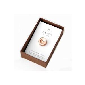 AP-IS-005 Aroma Pins (アロマ ピンズ) カラー/ピンク  お好みの香水・アロマオイル 等をしみ込ませることができる ボタン型のピンズ|dazzle-sp