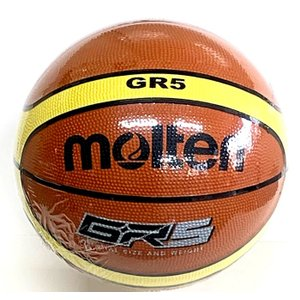 BGR5MY モルテン バスケットボール(ミニバスケットボール用) 5号球 検定球 小学校用 ゴム製|dazzle-sp