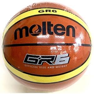BGR6MY モルテン バスケットボール(ミニバスケットボール用) 6号球 検定球 女子用 ゴム製|dazzle-sp