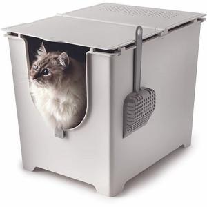 Flip Litter Box(フリップリターボックス) 全2色 猫用トイレ メーカー取り寄せ 受注後在庫の有無連絡します|dazzle-sp