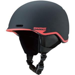 SWANSスノーヘルメット HSF-220  カラー:BK/R色(ブラック×レッド) 、サイズ:SM(54cm-58cm)、LXL(59cm-62cm)、大人用|dazzle-sp