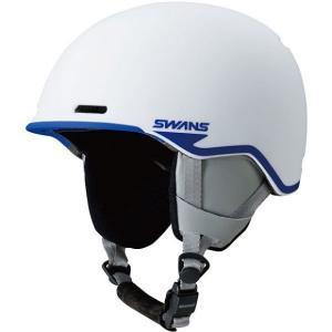 SWANSスノーヘルメット HSF-220  カラー:MAW色(マットホワイトF) 、サイズ:SM(54cm-58cm)大人用|dazzle-sp
