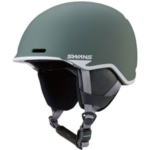 SWANSスノーヘルメット HSF-220  カラー:MGRY色(マットグレイ) 、サイズ:SM(54cm-58cm)、LXL(59cm-62cm)、大人用|dazzle-sp