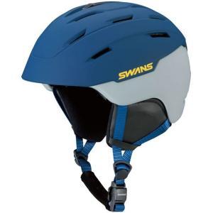 SWANSスノーヘルメット HSF-230  カラー:DNAV色(ダークネイビー) 、サイズ:M(53cm-58cm) 、L(58cm-62cm)、大人用|dazzle-sp