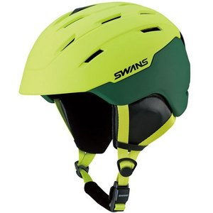 SWANSスノーヘルメット HSF-230  カラー:LIM色(ライム) 、サイズ:M(53cm-58cm) 、L(58cm-62cm)、大人用|dazzle-sp