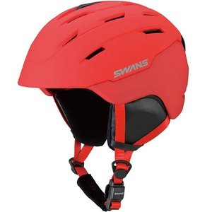 SWANSスノーヘルメット HSF-230  カラー:MR色(マットレッド) 、サイズ:M(53cm-58cm) 、L(58cm-62cm)、大人用|dazzle-sp