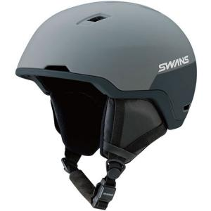 SWANSスノーヘルメット HSF-240  カラー:GRBK色(グレイ×ブラック) 、サイズ:M(53cm-57cm) 、L(58cm-61cm)、大人用|dazzle-sp