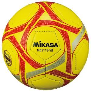 MIKASA(ミカサ) MC511S-YR 軽量球5号(シニア/50歳以上) 400g カラー/イエロー×レッド メーカー取り寄せ 受注後在庫の有無連絡します|dazzle-sp