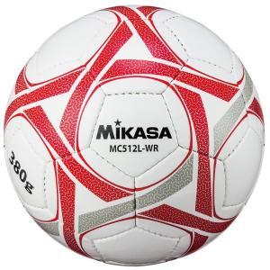MIKASA(ミカサ) MC512L-WR 軽量球5号 一般/大学/高校/中学 380g カラー/イエロー×レッド メーカー取り寄せ 受注後在庫の有無連絡します|dazzle-sp