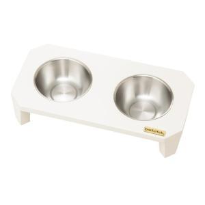 PTBA00403 ダブル・フードボウル フリッツ カラー/ホワイト 犬・猫用 メーカー取り寄せ 受注後在庫の有無連絡します|dazzle-sp