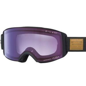 SWANSスノーゴーグル RACAN-MDH-CU  BKOC色 フレーム/ブラックオプティカルチェック 、レンズ/アイスミラー×ULTRAライトパープル調光|dazzle-sp