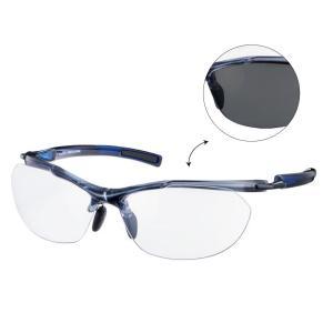 SACR-0066 Airless-Core エアレス・コア  調光レンズモデル カラー:MBK フレーム:クリアスモーク×クリアネイビー レンズ:調光クリア to スモーク|dazzle-sp